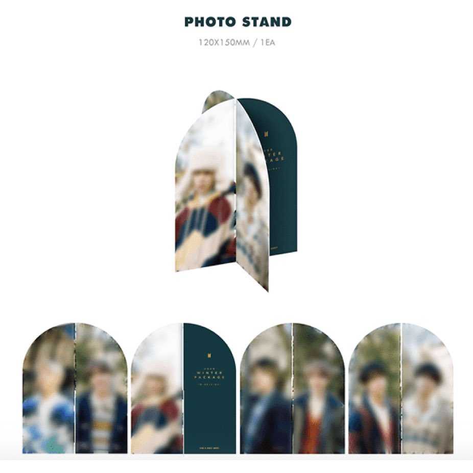 2020 Winter Package Photo Stand