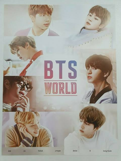 BTS World Official OST Poster