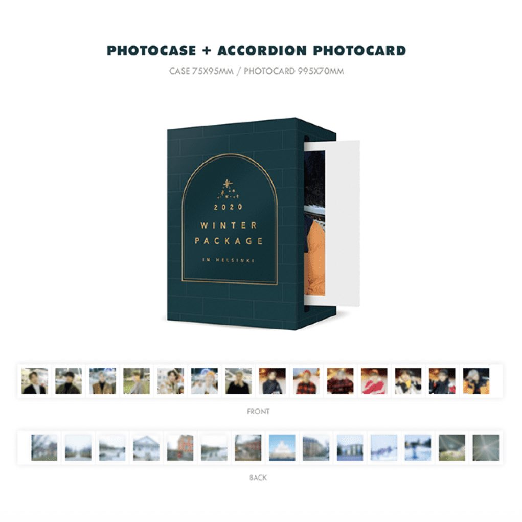 2020 Winter Package Photo Case+Accordion PC